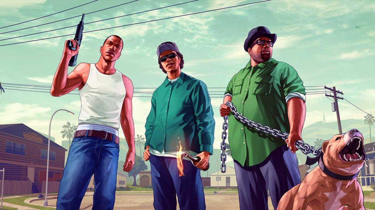 GTA San Andreas - fanart