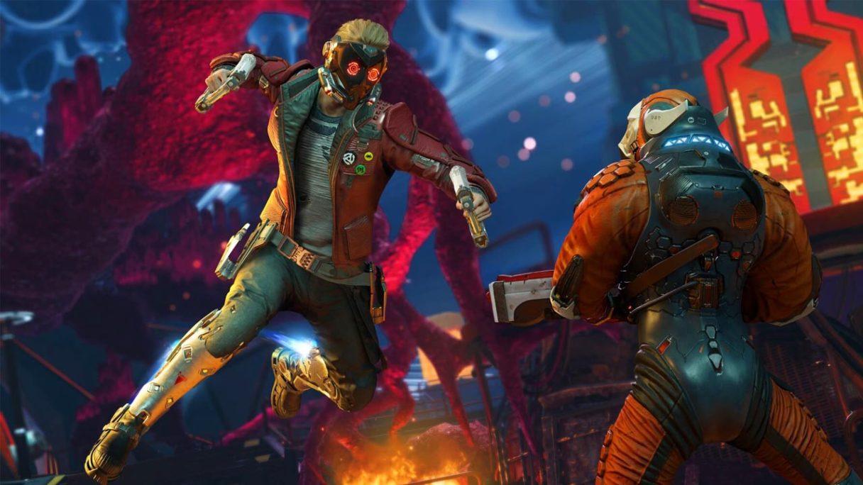 Gra Marvel's Guardians of the Galaxy - grafika