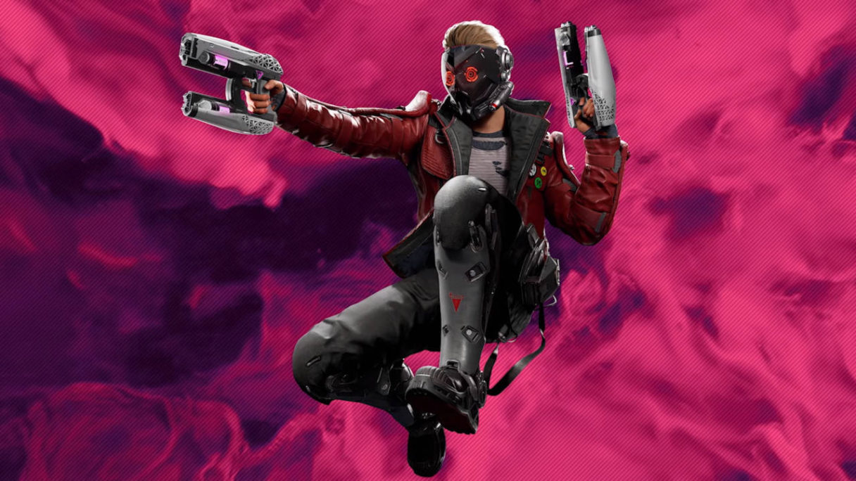 Guardians of the Galaxy - Star Lord ze spluwami