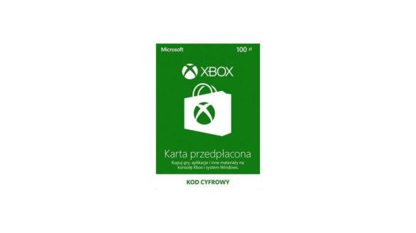 karta przedpłacona xbox live 100 pln