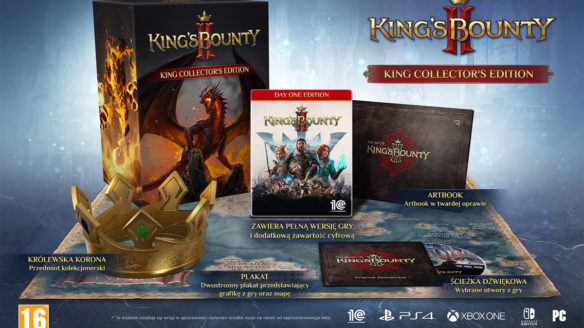 king's bounty king collector's edition