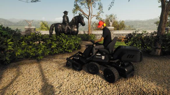 Lawn Mowing Simulator koszenie ziemi
