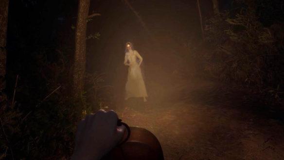 Martha is Dead - zrzut ekranu z duchem