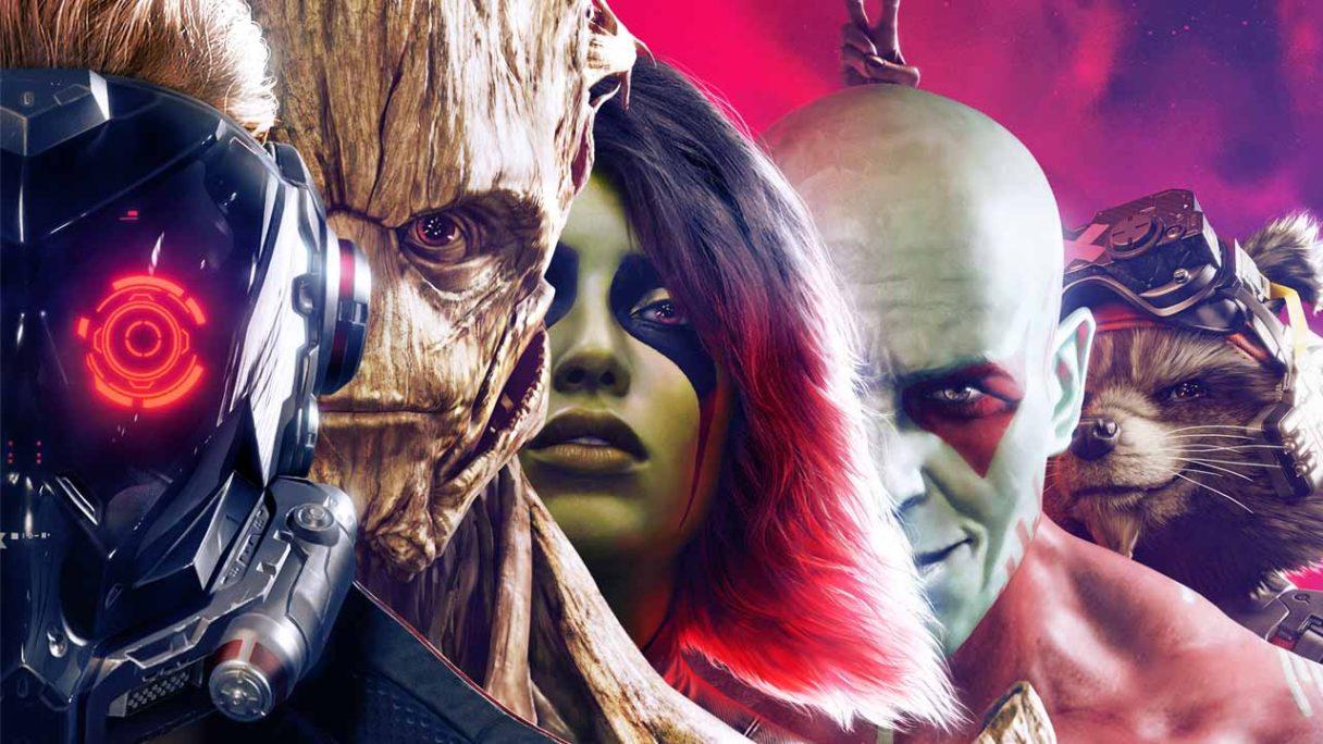 Marvel's Guardians of the Galaxy - grafika z postaciami