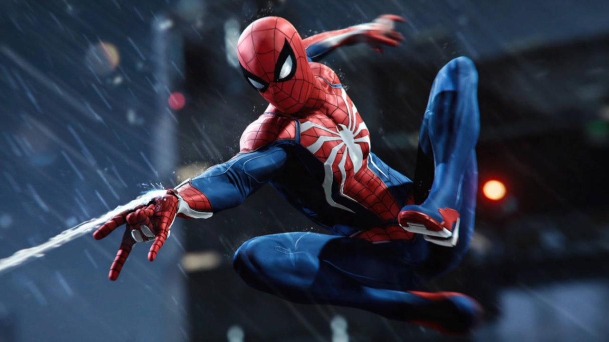 Marvel's Spider-Man Remastered - Spider-Man buja się po sieci na mieście