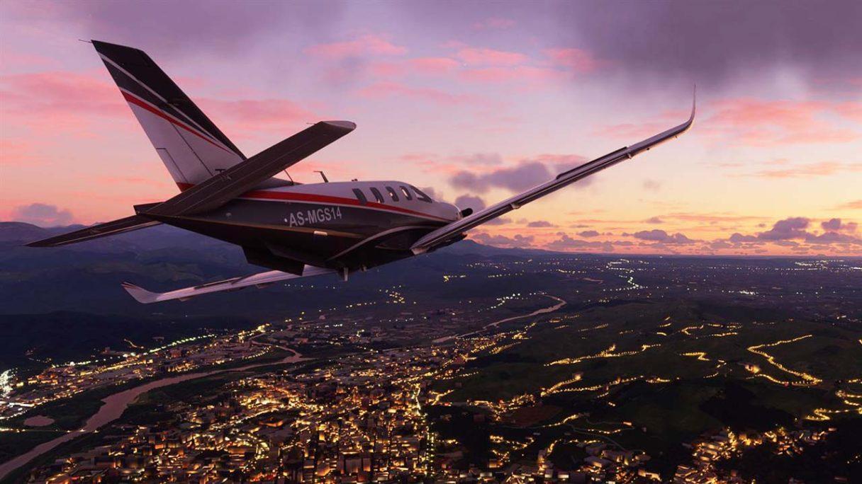 Microsoft Flight Simulator - zrzut ekranu