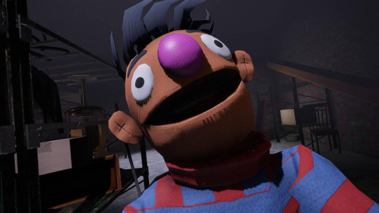 My Friendly Neighborhood - stwór wyglądający jak Ernie z ulicy sezamkowej