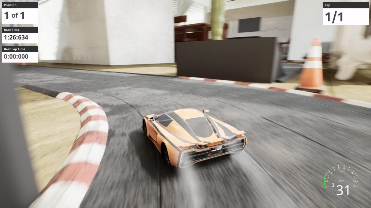 Nano Racing Unreal Engine 5