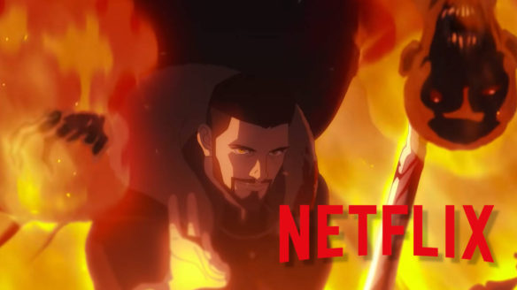 Netflix nowości - Vesemir w ogniu z mieczem- Wiedźmin Zmora Wilka