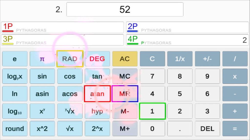 Nintendo Switch Battle Calculator - gracze próbują utworzyć liczbę 52