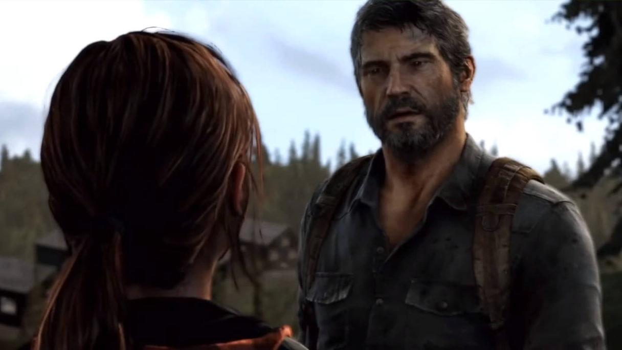 PlayStation - The Last of Us - Joel rozmawia na moście z Ellie