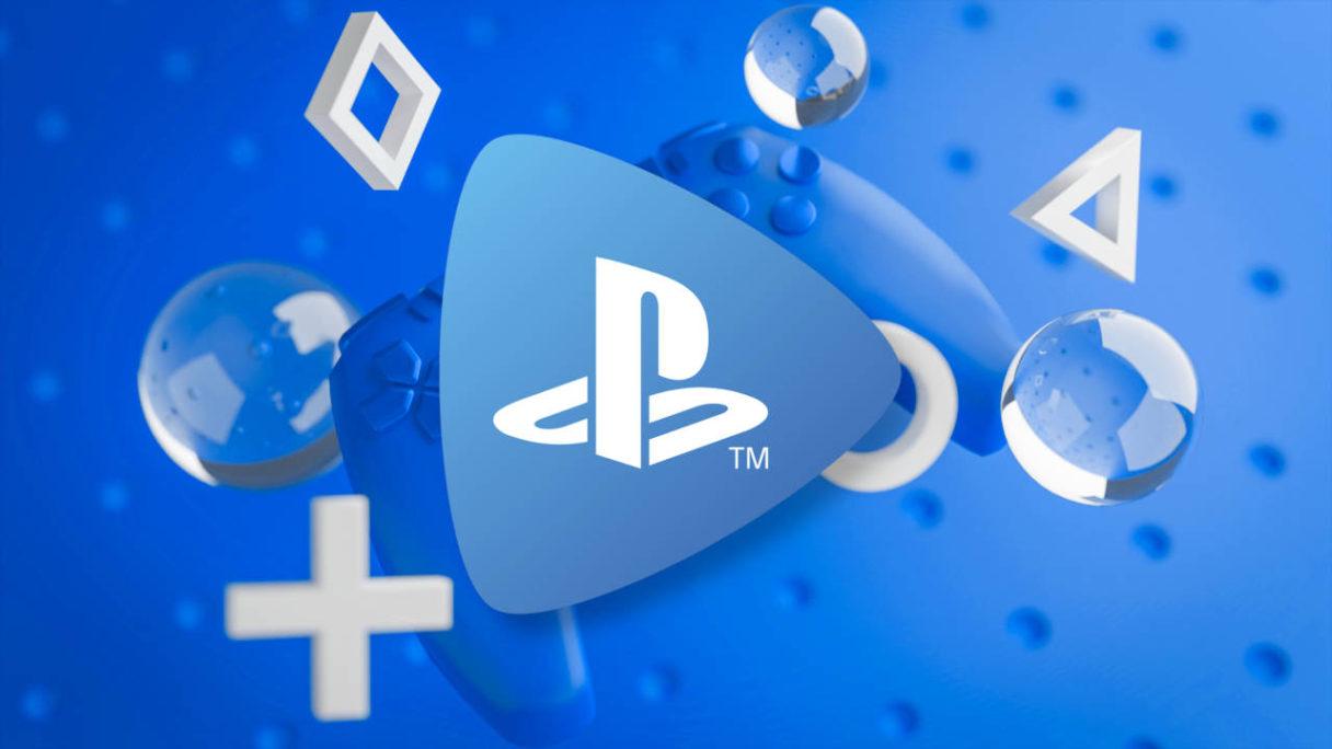 PS Now - logo - kontroler DualSense