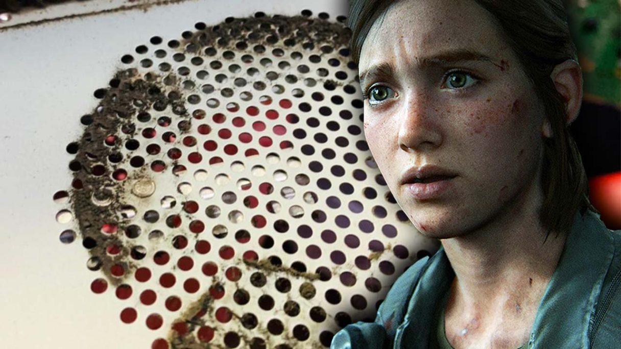 Brudne PS4 i Ellie