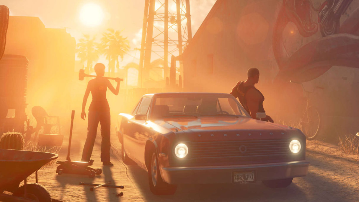 Saints Row - zrzut ekranu