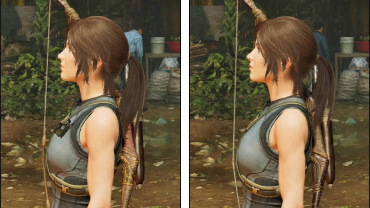 Shadow of the Tomb Raider - porównanie - Lara Croft