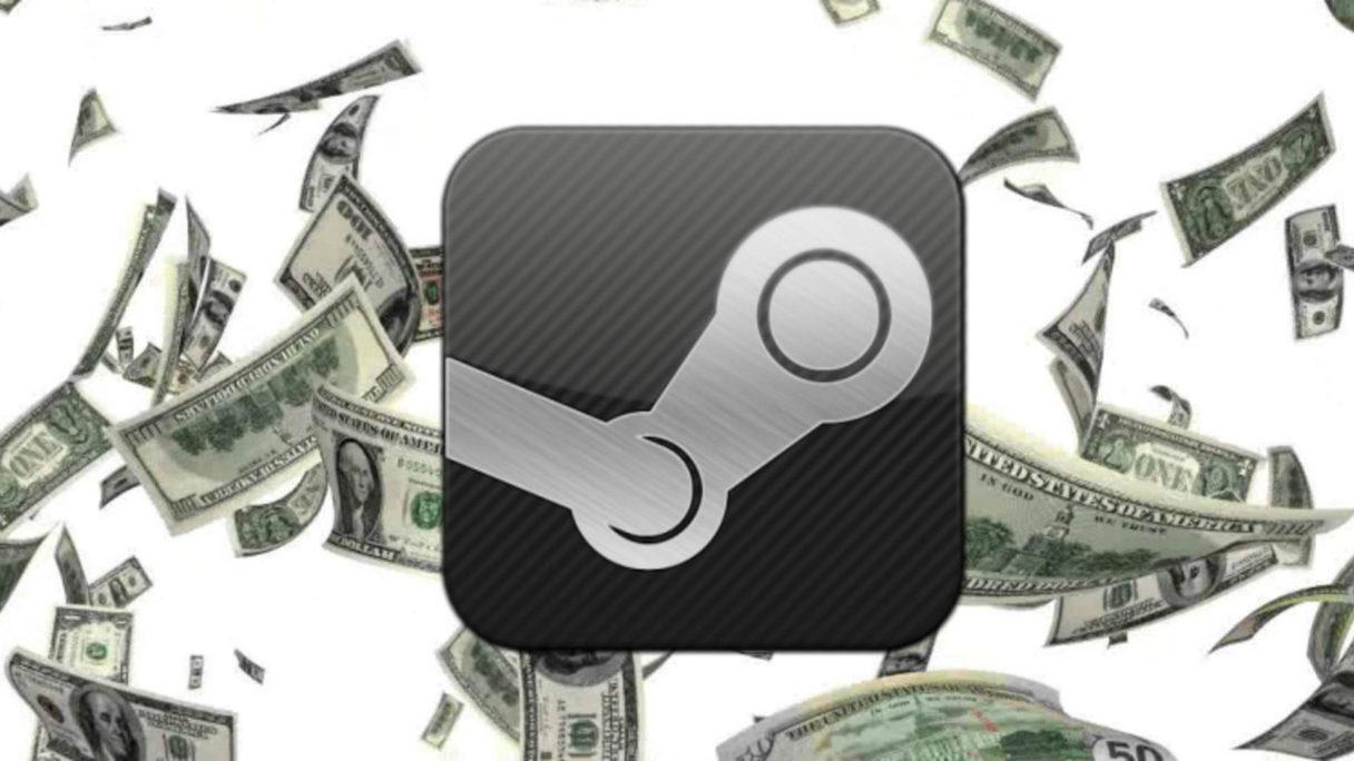 Steam - pieniądze