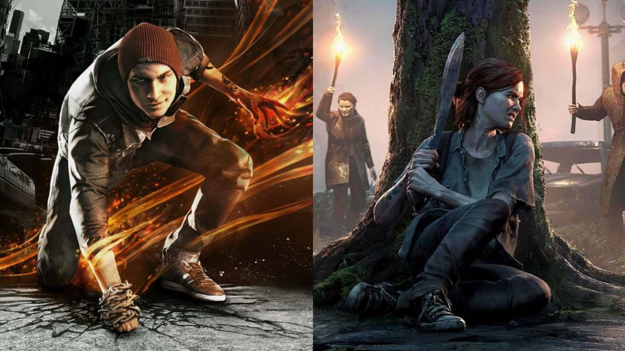 Postacie z The Last of Us 2 i inFamous: Second Son