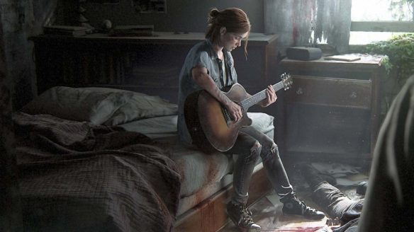 The Last of Us 2 - Ellie gra na giatrze