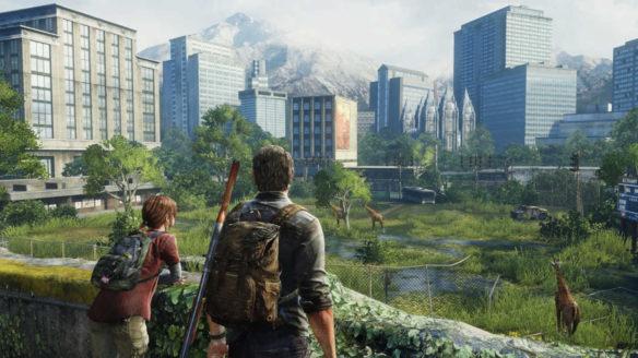 The Last of Us - Ellie i Joel