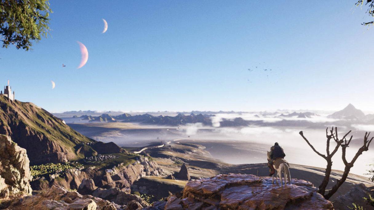 The Wayward Realms - grafika