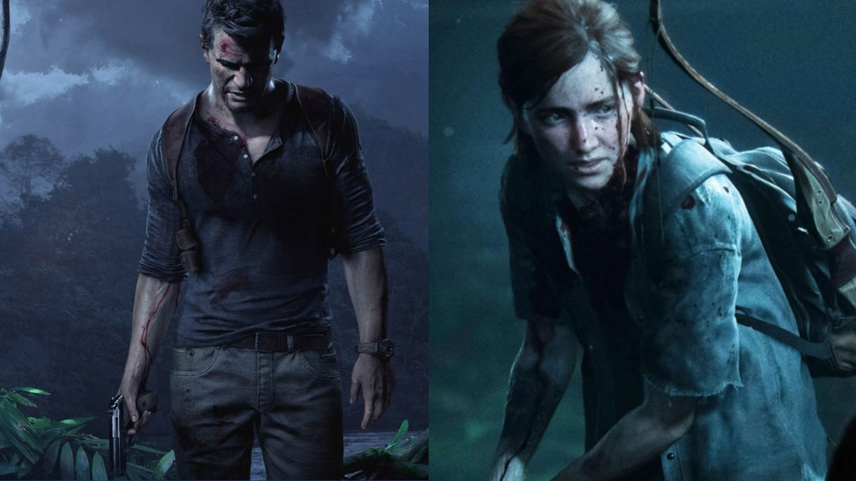 Uncharted i The Last of Us od Naughty Dog