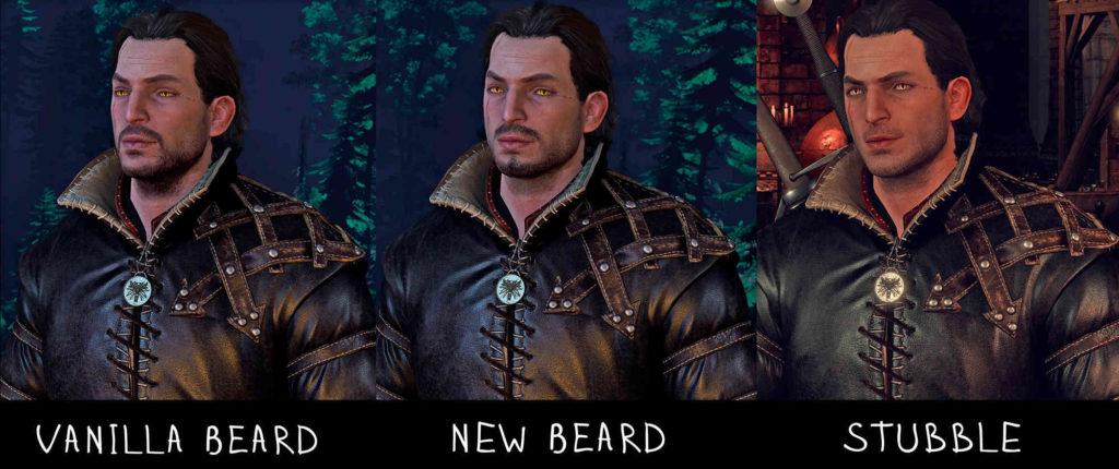 Wiedźmin 3 Dziki Gon - Cheer Up Lambert New Face - zestaw 3 nowych bród Lamberta