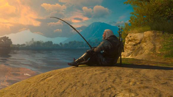 Wiedźmin 3 - E3 Fishing