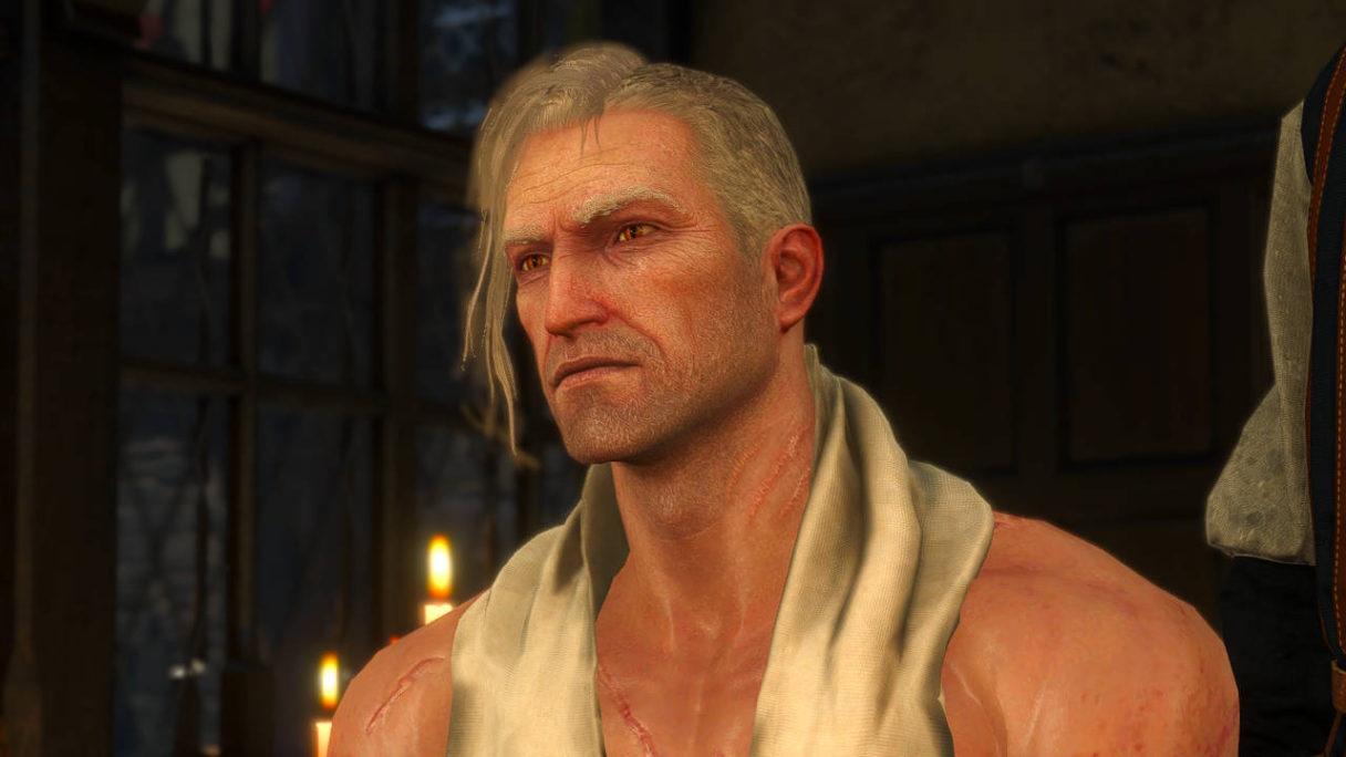 Wiedźmin 3 - Geralt nowa fryzura