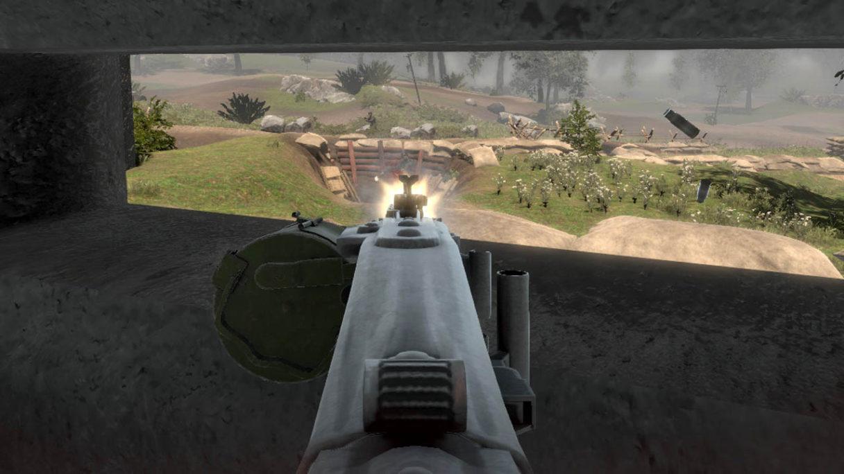 WW2 Bunker Simulator - zrzut ekranu