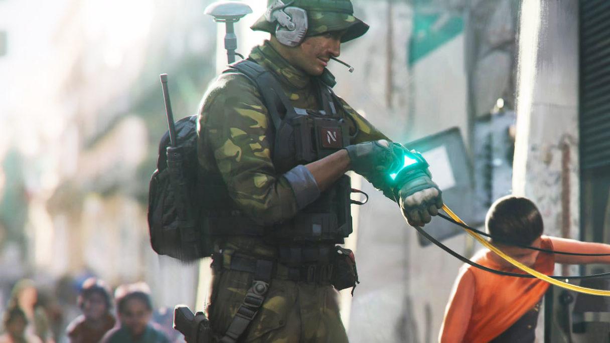 Battlefield 2042 - grafika koncepcyjna