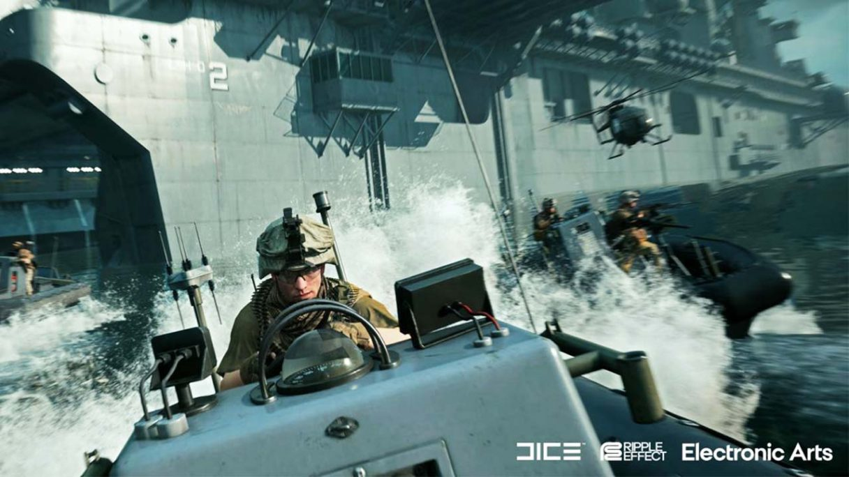 Battlefield 2042 - zrzut ekranu z trybu Portal