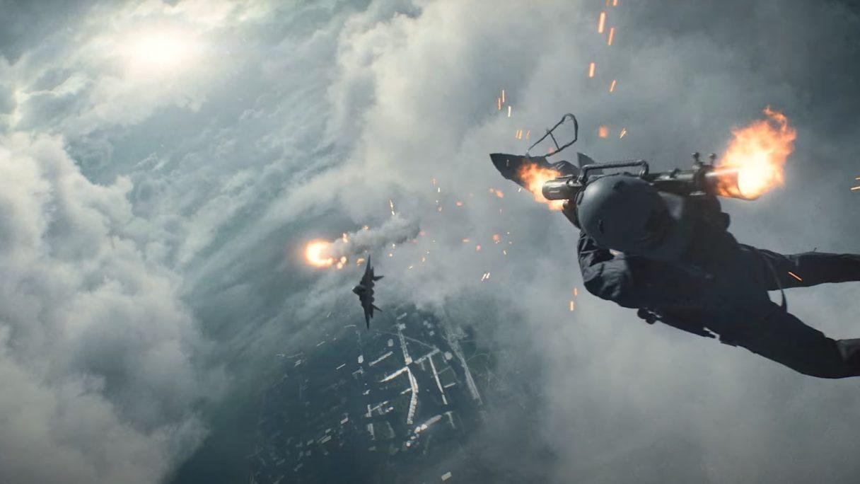 battlefield 2042 zestrzelenie myśliwca