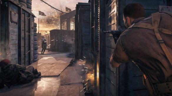 Call of Duty Vanguard - potyczka żołnierzy, ołów lata w powietrzu