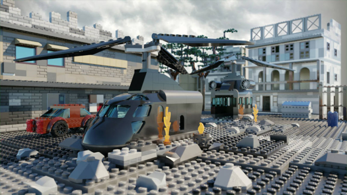 Call of Duty x LEGO - mapa Crash - PG