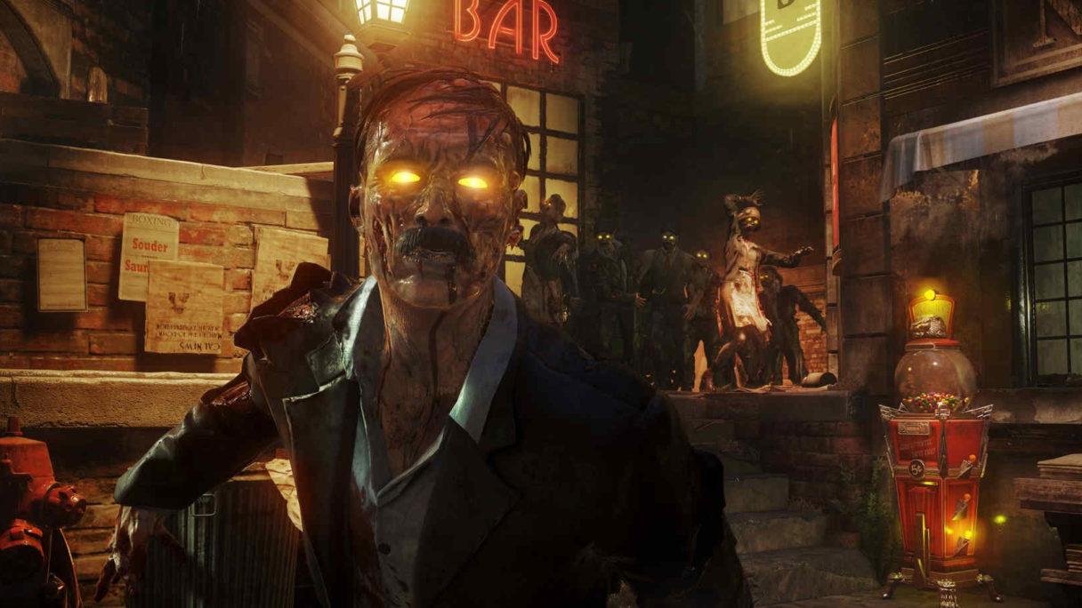 Zombie jako słynny malarz.