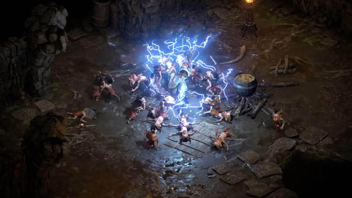 Diablo 2 Resurrected - zrzut ekranu z gry paladynem