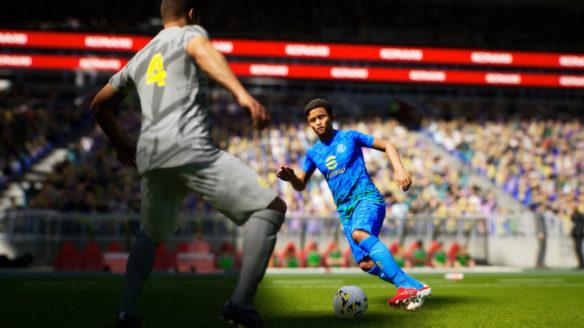eFootball 2022 - zrzut ekranu