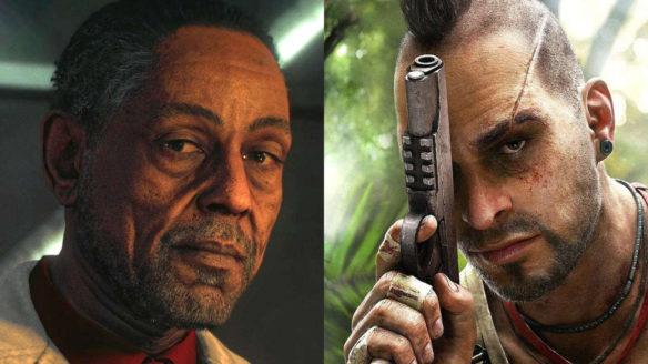 Far Cry 6 - Antón Castillo i Vaas z Far Cry 3