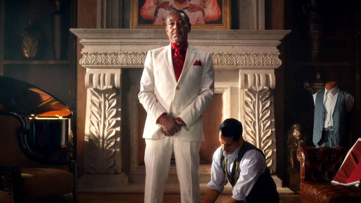 Far Cry 6 - Diego Castillo przymierza garnitur
