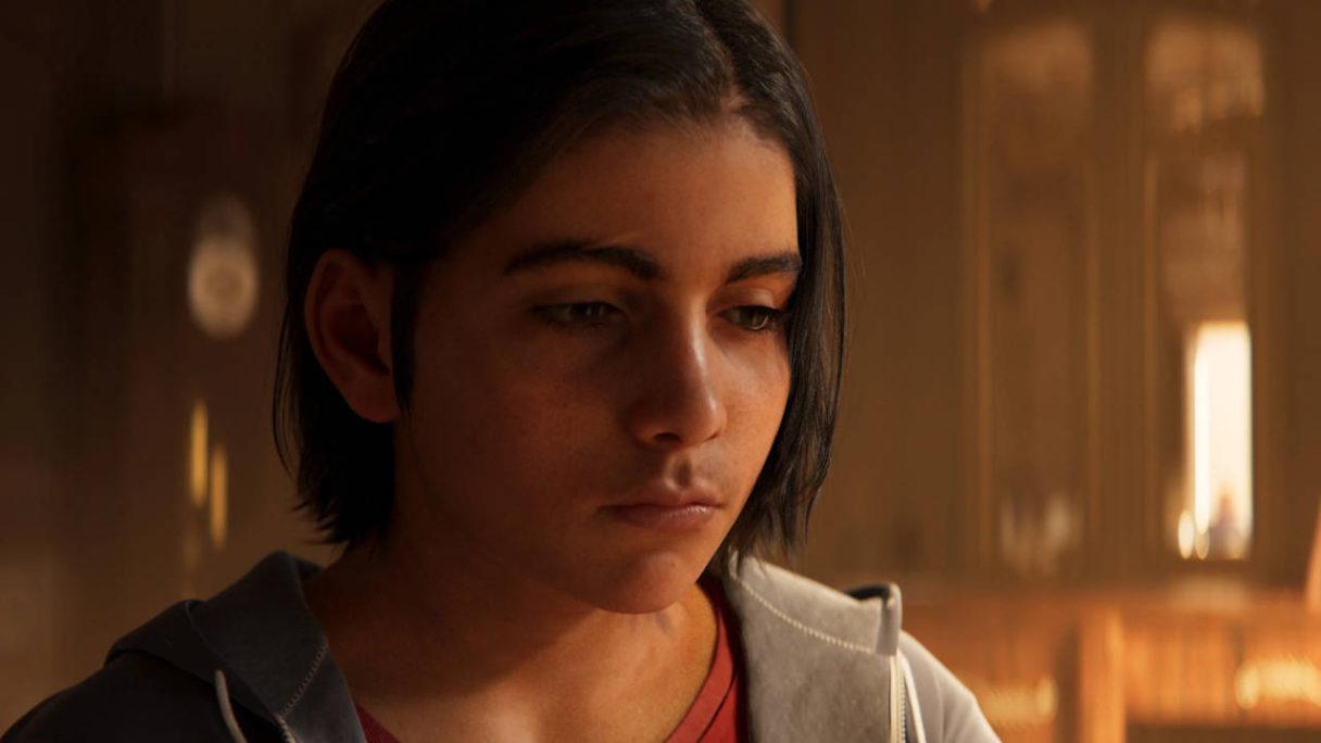 Far Cry 6 - smutny chłopak z okładki gry