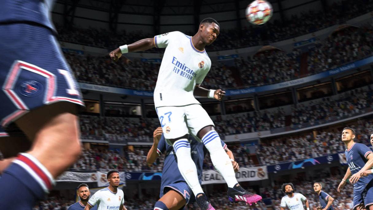 FIFA 22 - odbicie główką - PG