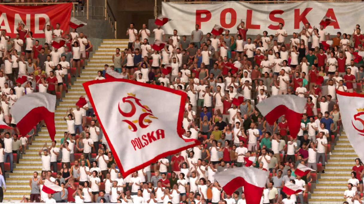 FIFA 22 - polscy kibice na trybunach - PG