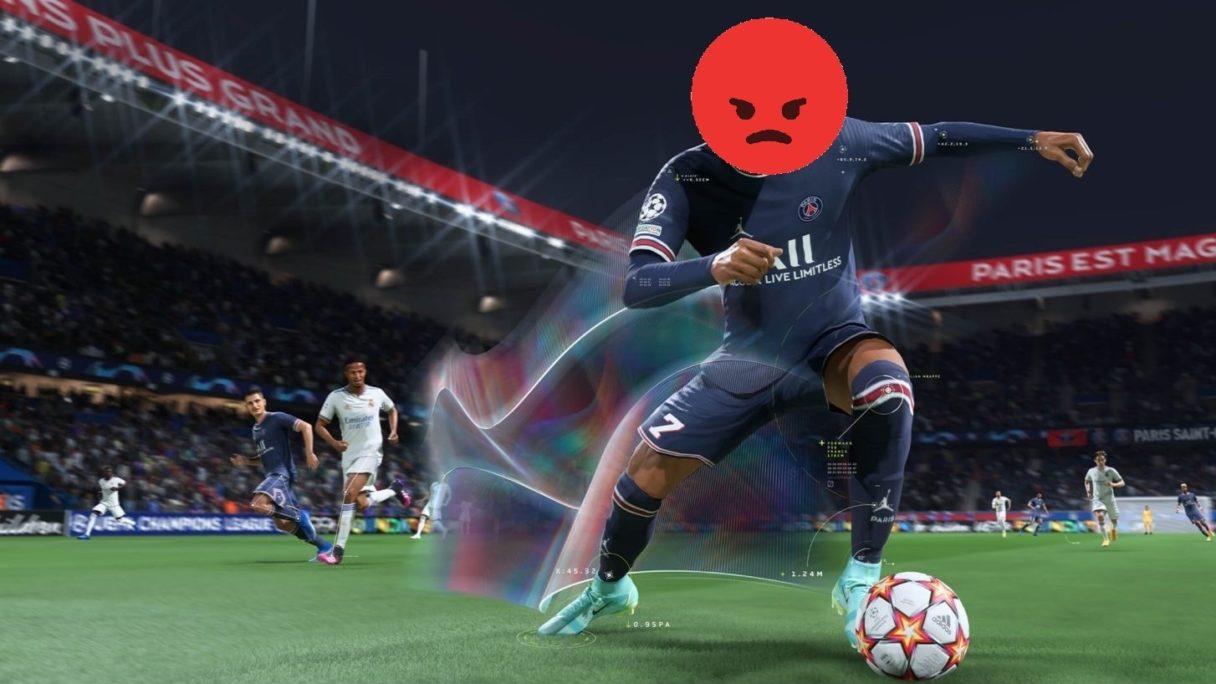 fifa 22 zły piłkarz