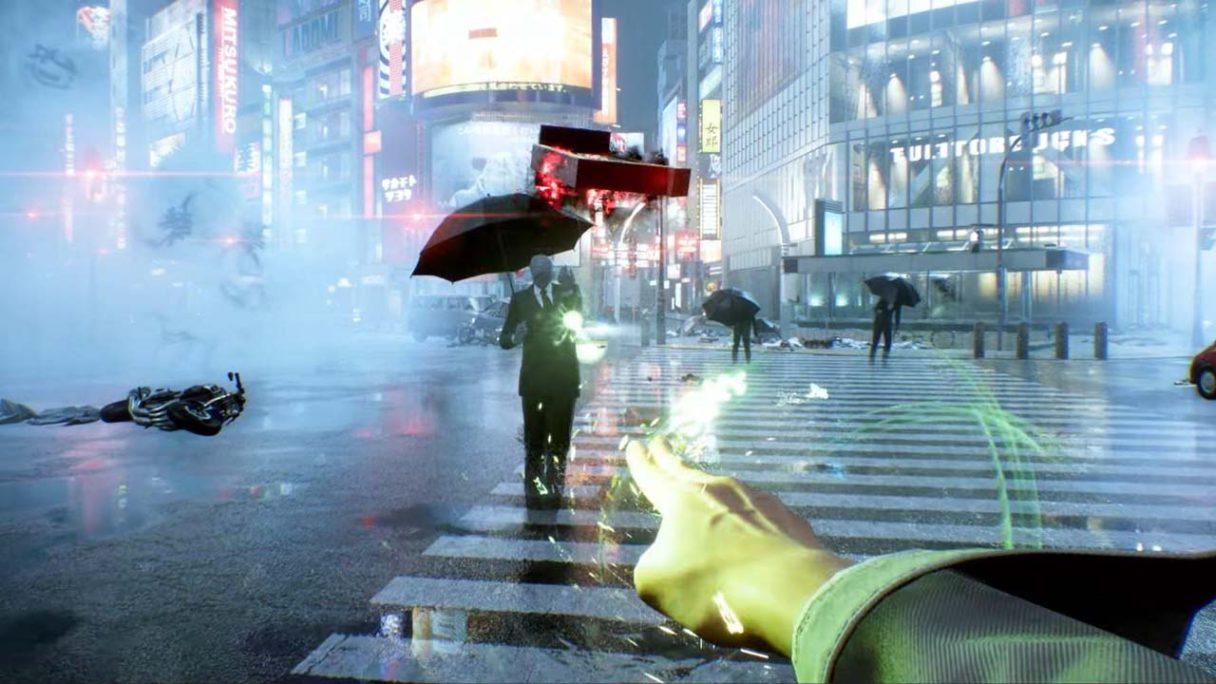 Ghostwire: Tokyo - zrzut ekranu