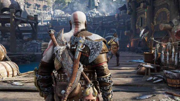 God of War Ragnarok - zrzut ekranu