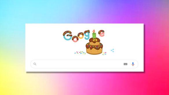 Google Doodle - urodziny