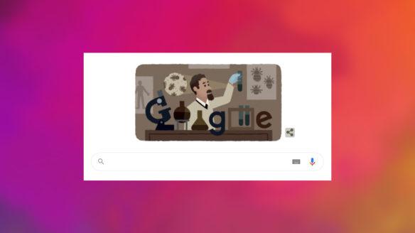 Google Doodle - Rudolf Weigl