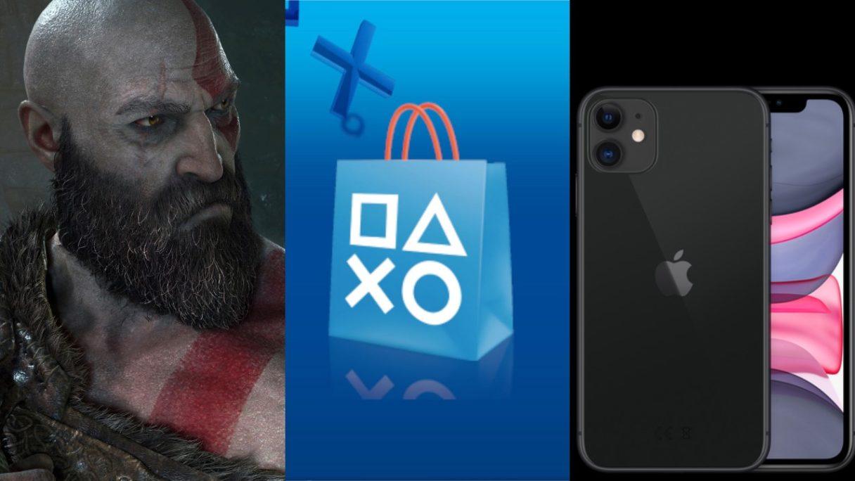 Kratos, PS Store, iPhone