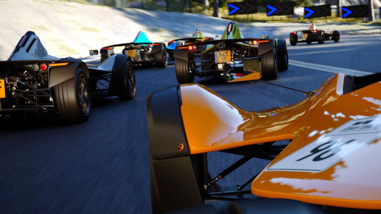 Gran Turismo 7 - wyścig bolidów po torze wyścigowym