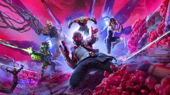 Marvel's Guardians of the Galaxy - grafika z bohaterami